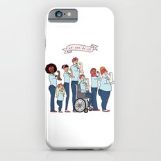 Intersectional Rosie the Riveter iPhone 6s Slim Case