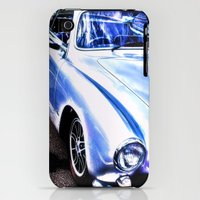iPhone 3Gs & iPhone 3G Cases featuring VW Vintage Sports Car by Brian Raggatt