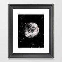 Moon Landing Framed Art Print