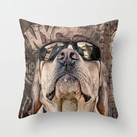 yeah man . . . this is really high! Throw Pillow
