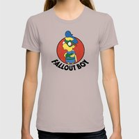 Fallout Boy Womens Fitted Tee Cinder SMALL