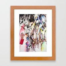 Porn Piece Framed Art Print