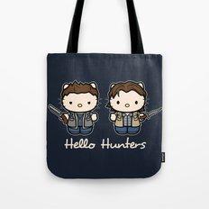 Hello Hunters Tote Bag
