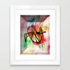 Look Carefully Into Framed Art Print