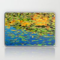 Lilly pond in the style of Monet Laptop & iPad Skin