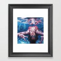 Loops Framed Art Print