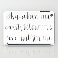Fire Within Me iPad Case