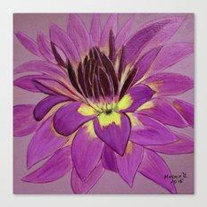 flower close up Canvas Print