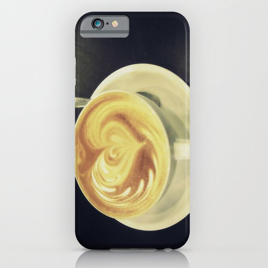 Latte Love ~ coffee iPhone & iPod Case