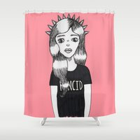 Molly (Every Man Has One) Shower Curtain