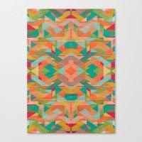 Aztek Pattern Canvas Print