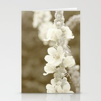 Vintage flower Stationery Cards