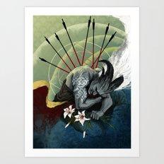 Dragon Age - Qunari - Be… Art Print