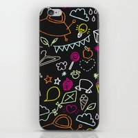 Chalkboard Doodles iPhone & iPod Skin