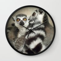 Cuddle up! Wall Clock