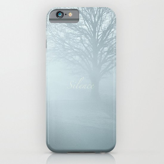Tree / Winter Silence iPhone & iPod Case