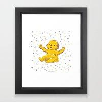 Who Got The Baby?? Framed Art Print