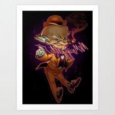 Mr. Mxyzptlk Art Print