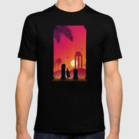 Fading Empire Mens Fitted Tee Black SMALL