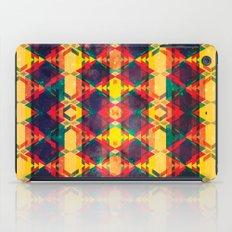 Green Abstract Diamond iPad Case