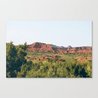 Caprock Canyons State Park Canvas Print