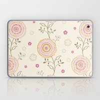 Folky Flowers Laptop & iPad Skin