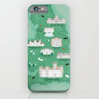 iPhone & iPod Case featuring English Estates Map by Jennifer Reynolds