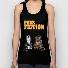 Purr Fiction Unisex Tank Top