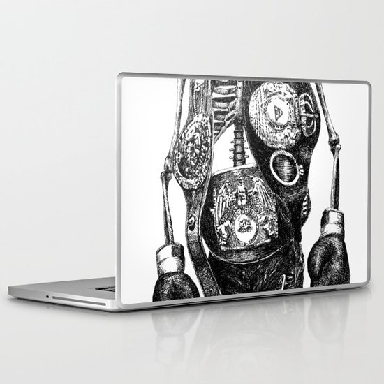 Mike Tyson Laptop & iPad Skin