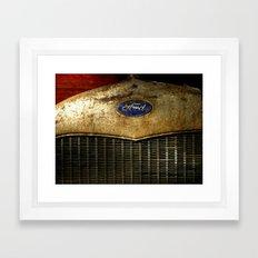 Rusty Ford Framed Art Print
