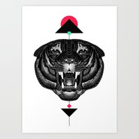 Roar My *--Tiger--* Art Print