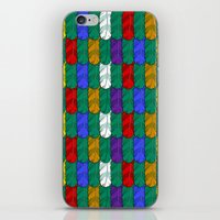 Feathers Pattern iPhone & iPod Skin