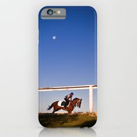 iPhone & iPod Case featuring A rider and a horse by The Light Project
