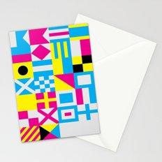 Nautical Alphabet CMYK Stationery Cards