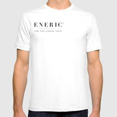 Generic® White Mens Fitted Tee SMALL