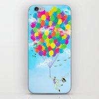 Neon Flight iPhone & iPod Skin