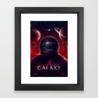 Super Mario Galaxy Framed Art Print