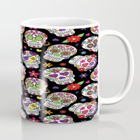 Colorful Sugar Skulls Mug