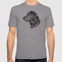 Retriever Mens Fitted Tee Athletic Grey SMALL