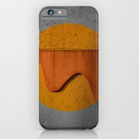 iPhone Cases featuring The Wall's Sun by Lia Bernini