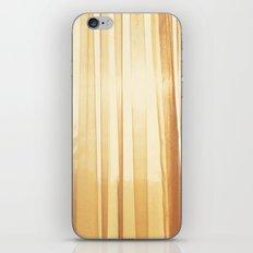 Yellow light iPhone & iPod Skin