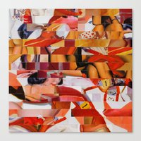Spooning De Kooning (Pro… Canvas Print