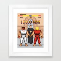 Special Move Framed Art Print