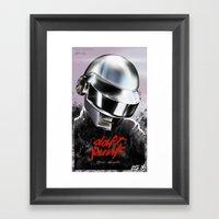 Daft-er Framed Art Print