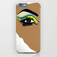 iPhone & iPod Case featuring eye by frtortora