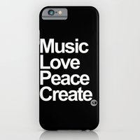 iPhone & iPod Case featuring MLPC White by C8 Clothing