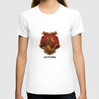 iphone 5 case T-shirts featuring Gryffindor iPhone 4 4s 5 5c, pillow, case by neutrone