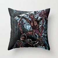 The Dead's Pace Throw Pillow