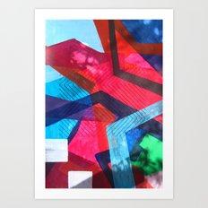 Stitch on me Art Print
