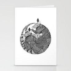Armadillos  Stationery Cards